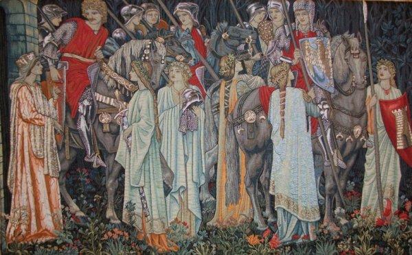 Quête du Graal, Chevalier de la Table Ronde et le Roi Arthur ne cesseront jamais de faire rêver...
