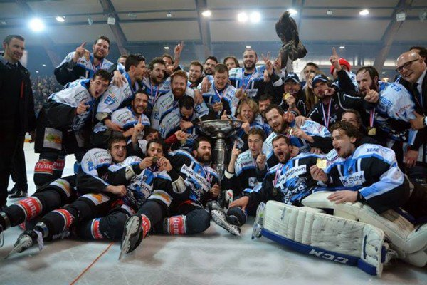Les Rapaces de Gap sont champion de France 2015 (Ligue Magnus)