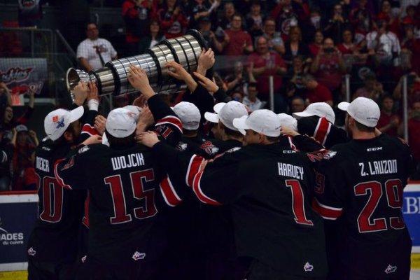 Ligue de Hockey Junior Majeur du Québec - Final de la coupe du Président.