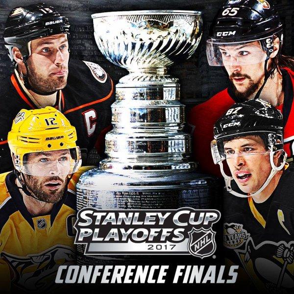 NHL - Final de conférence est et ouest.