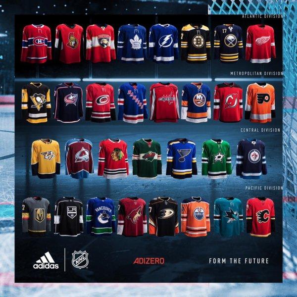 NHL - Adidas débarque.