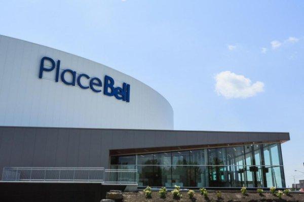 Nouvelle aréna pour les Rocket de Laval,l'équipe école des Canadiens de Montréal.