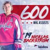 Nickas Backstrom - 600 assistances en NHL