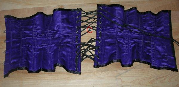 Serre taille démonia violet