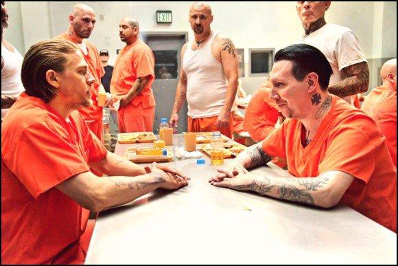 Sons of Anarchy, saison 7 : première photo promo pour Marilyn Manson.
