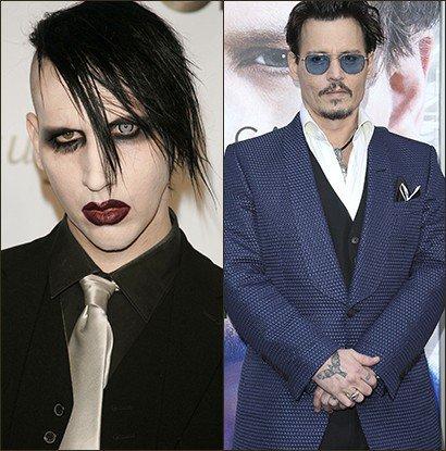 Marilyn Manson se confie sur son amitié fusionnelle avec Johnny Depp.