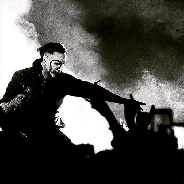 Manson à posté sur les réseaux sociaux.