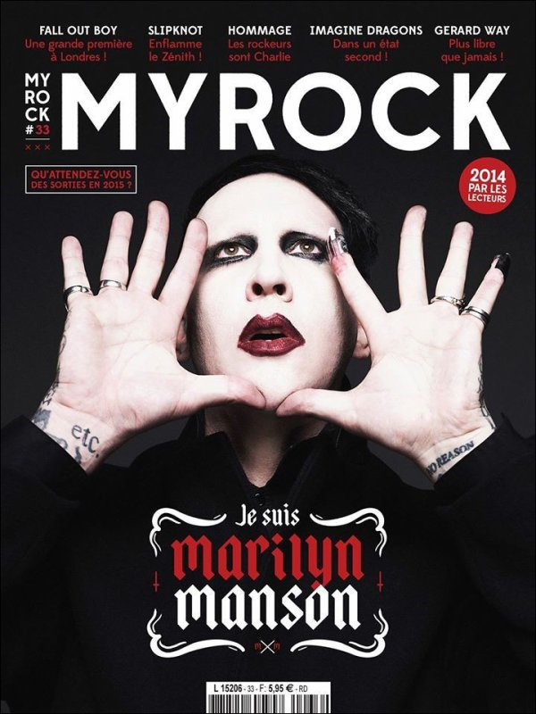 Marilyn Manson - MY ROCK