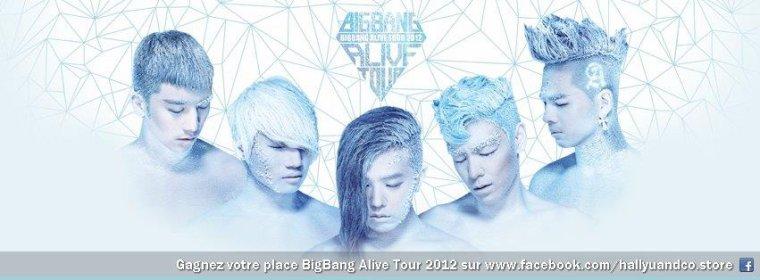 Gagnez votre place pour le ♕ BIGBANG ALIVE TOUR 2012 ♕ à Londres avec Hallyu & Co.