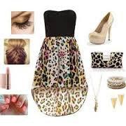 tenue leopard swag