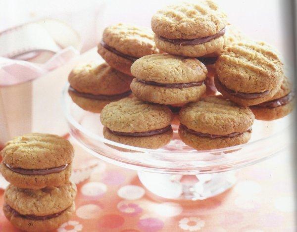 Biscuits croquants chocolat-noix de coco:
