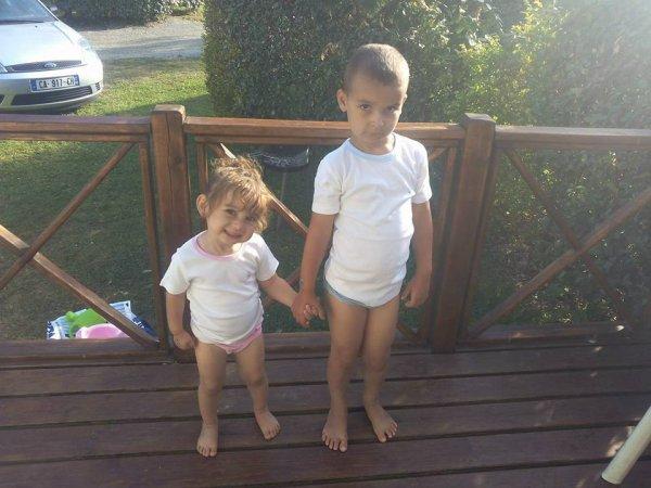 ma niece et mon neveux ( célia & rayan jvous aimes)