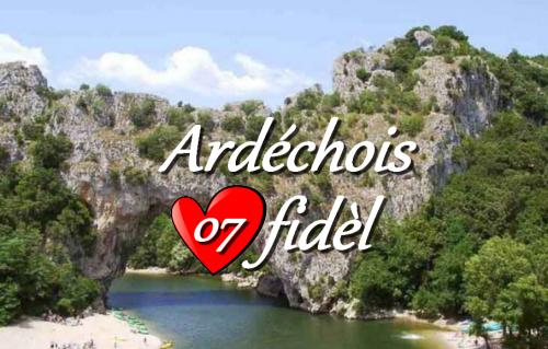 Ma fierté L'Ardèche !