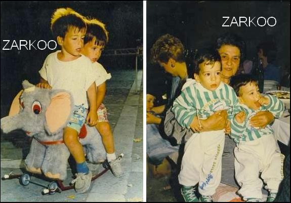PHOTOS EXCLUES LES JUMEAUX PETITS + ZARKO ADO