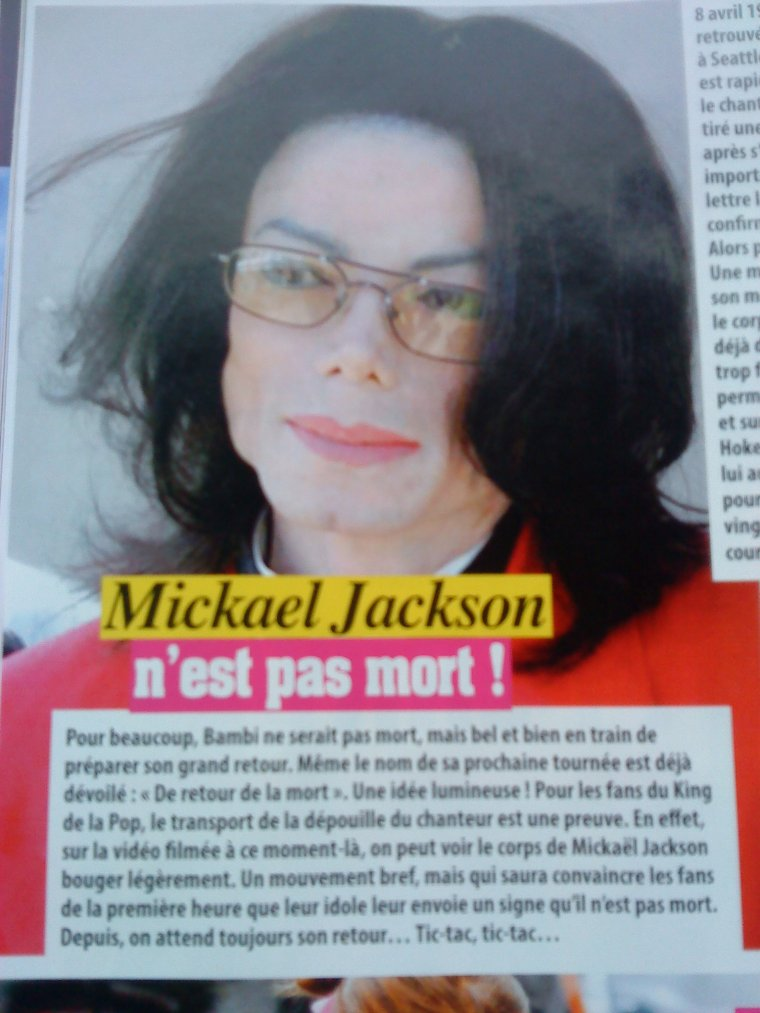 Michael Jackson Vit toujours....