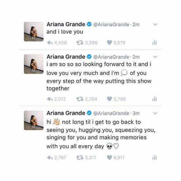 News de Ariana Grande (la semaine du 26/12/2016 au 01/01/2017)