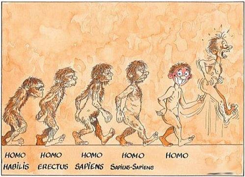 Evolution de l'homme!!!!!