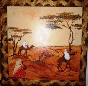 Touareg dans le desert