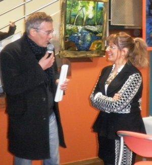 vernissage vendredi 18 février 2011 à Marsac