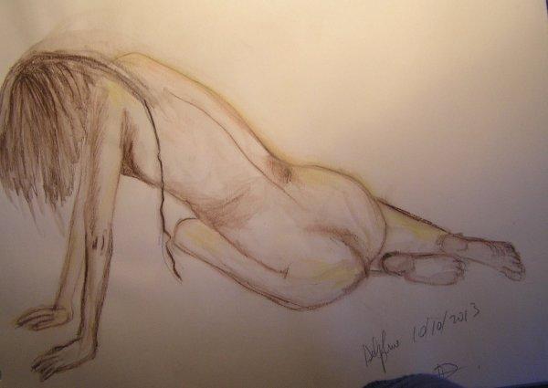 Quelques dessins de l'Atelier du nu...