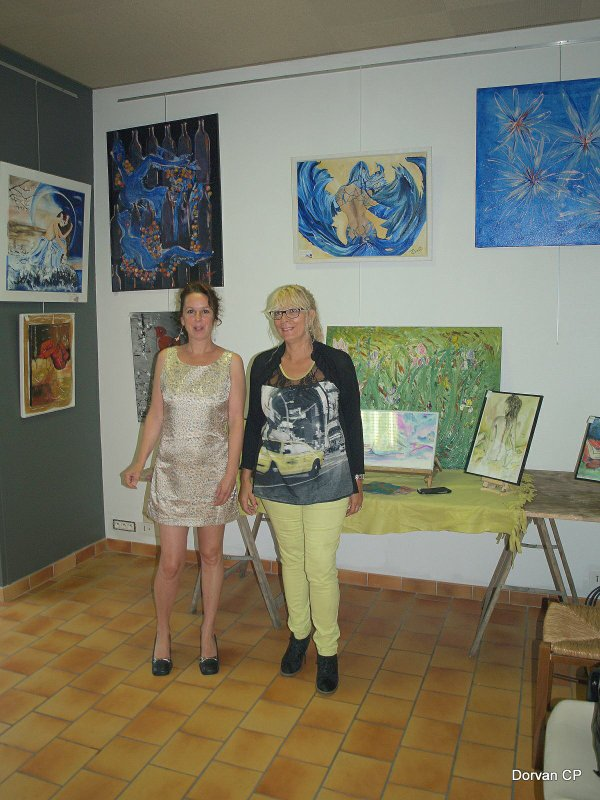 Exposition à VERGT juin 2014