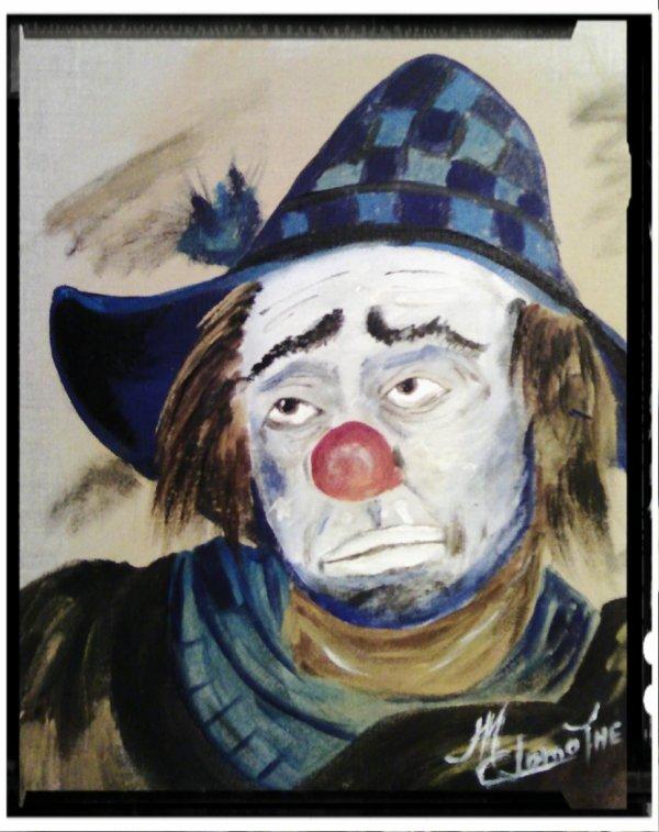 Le clown qui pleure le monde d'aujourd'hui