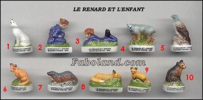 VENTE 43     -     LE RENARD ET L'ENFANT     -     0 ¤ 50     +   Frais de port