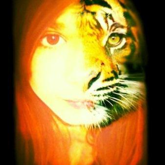 I'm a tiger ! Grrr LOL