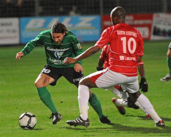Colmar - Beauvais : 1-2 (0-1).