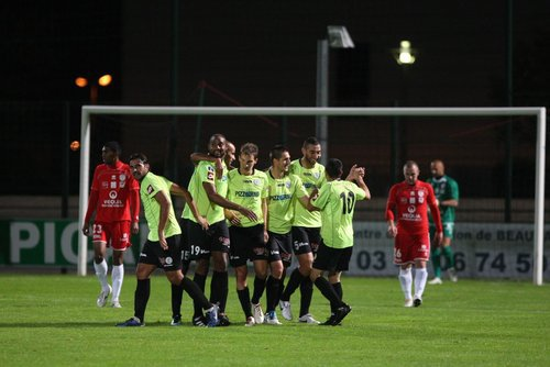 Beauvais - Frejus Saint Raphael : 0-1 (0-1).