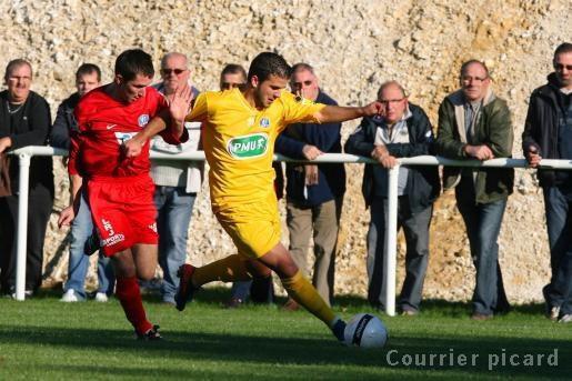 Miannay - Beauvais : 2-3 (0-3).