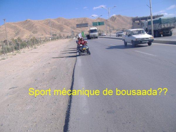 Sport mécanique de bousaada