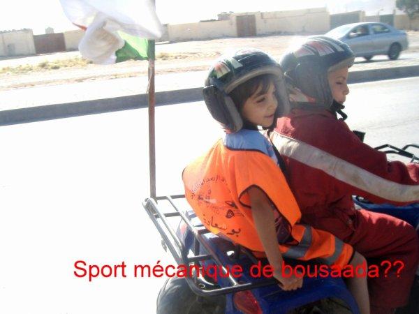 Sport mécanique de bousaada7
