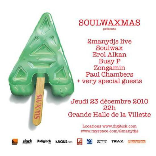 SOULWAXMAS 2010 PARIS