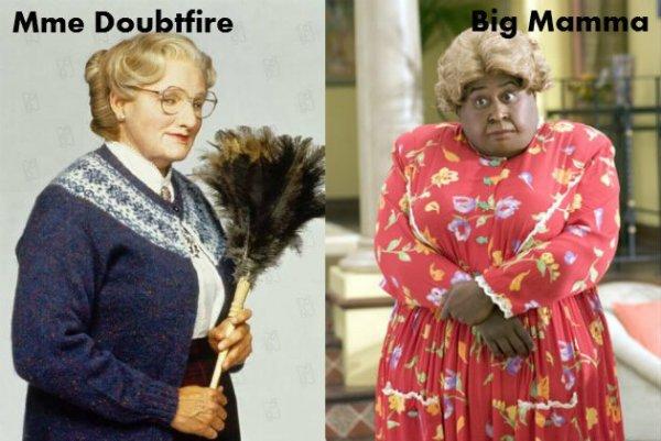 Mme Doubtfire / Big Mamma.