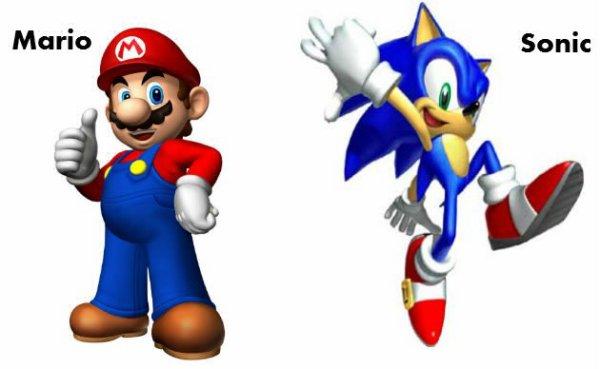 Mario / Sonic.