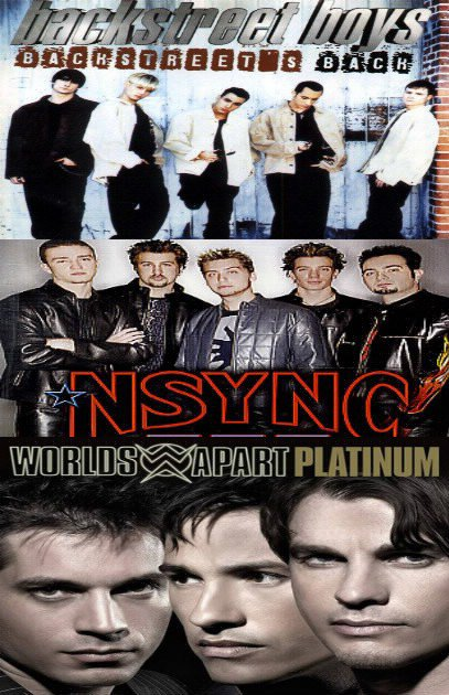 Backstreet boys / N'sync / World Apart.