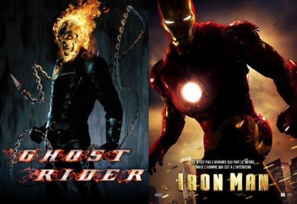 Ghost rider / Iron man.