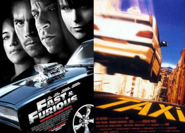 Fast and Furious / Taxi.