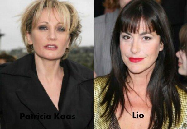 Patricia kaas / Lio.
