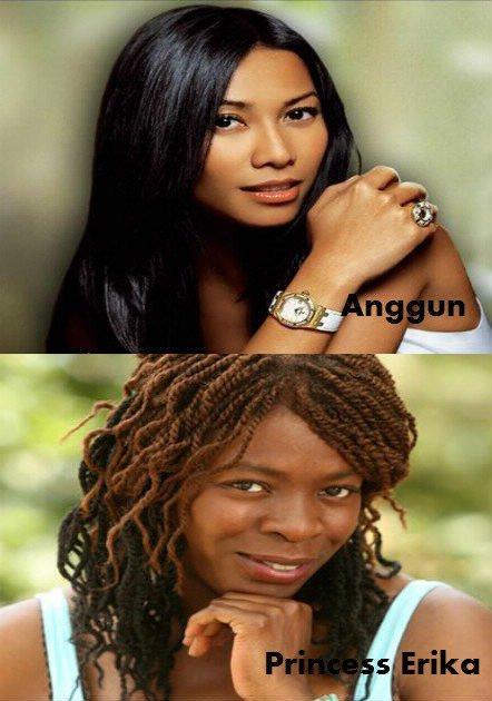 Anggun / Princess Erika.