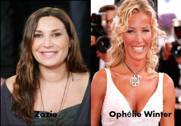 Zazie / Ophelie Winter.