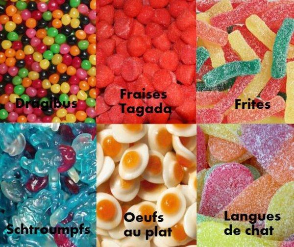 bonbons.