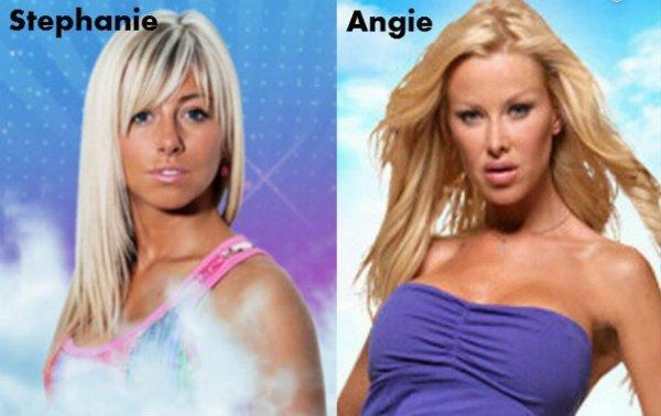 Stéphanie / Angie.