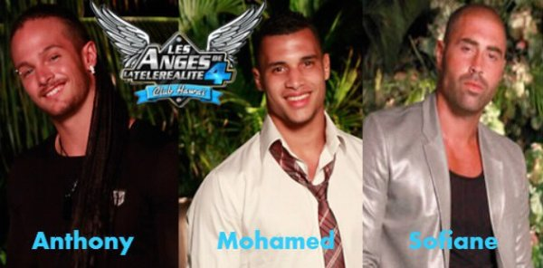 Anthony / Mohamed / Sofiane.