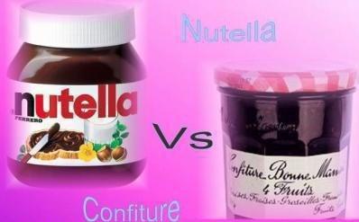 Nutella / Confiture ?