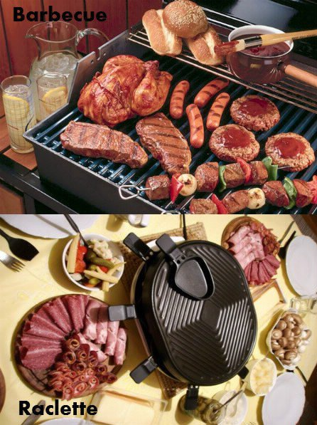 Barbecue / Raclette.