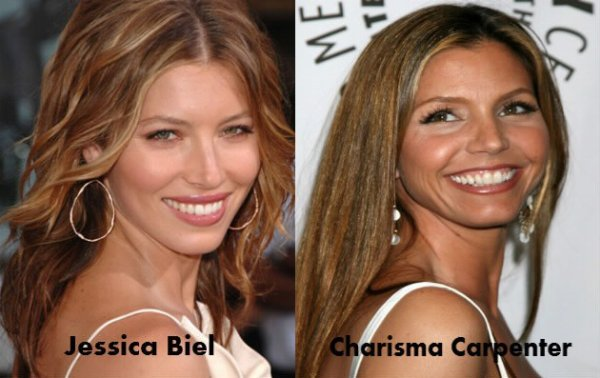 Jessica Biel / Charisma Carpenter.