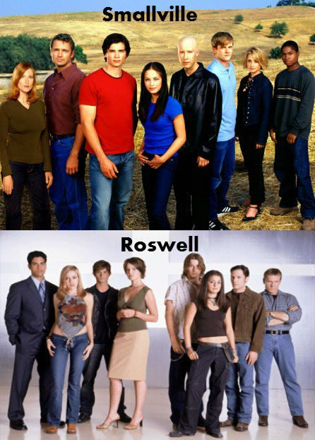 Smallville / Roswell.