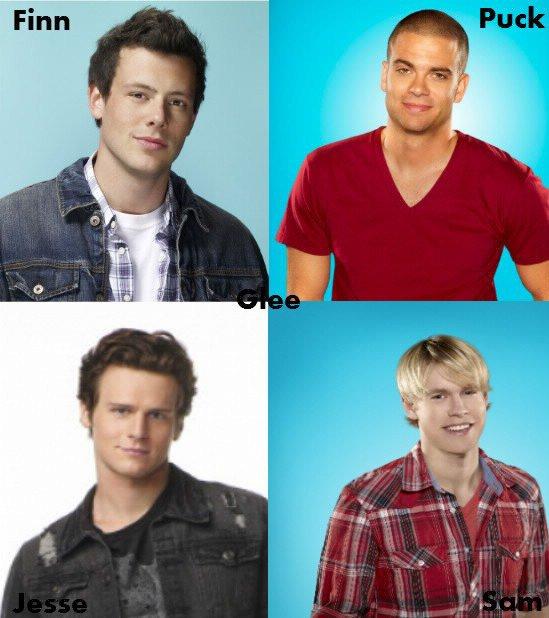 Glee : les garçons.